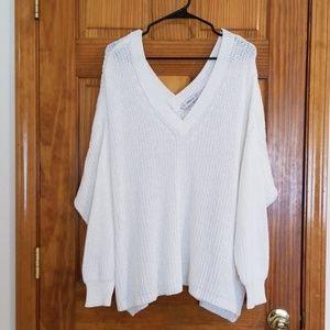 Zara Double V Oversized Sweater